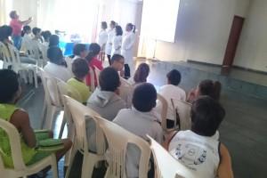 Escola Aurelisa Alcântara recebe equipe do PSF São João