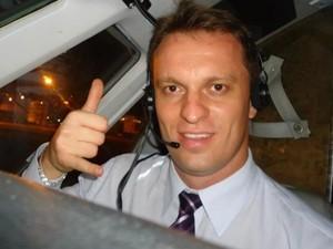 Francisco Henrique Tofoli Pinto era o copiloto da aeronave que caiu (Foto: Reprodução/ Facebook)