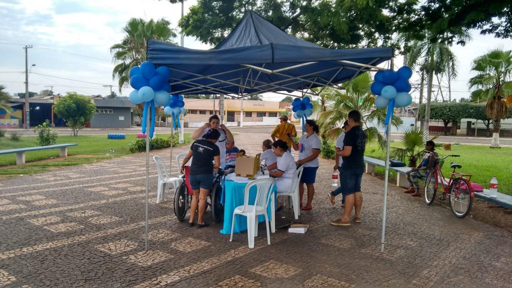 Blitz Educativa em Ipiaçu chama atenção para Saúde do Homem
