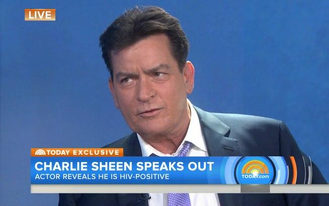 Reprodução/NBC Charlie Sheen revela ser portador de HIV