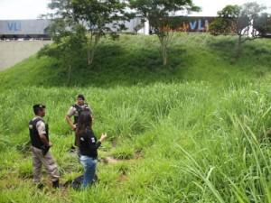 Corpo esquartejado e carbonizado é localizado em Uberaba / Foto/Neto Talmeli