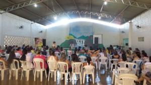 Profissionais da Educação em Palestra Show em Ipiaçu