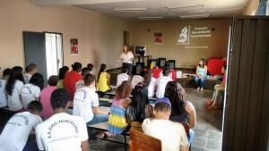 Palestra na Escola Governador Juscelino