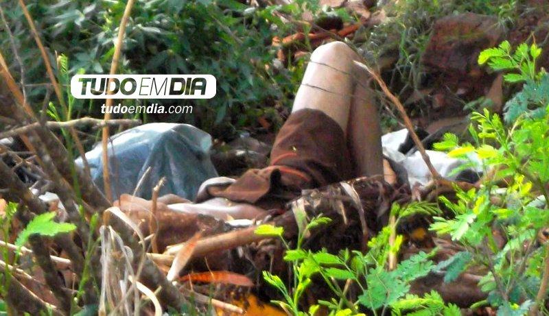 Alexione foi morto e jogado às margens do córrego Olaria