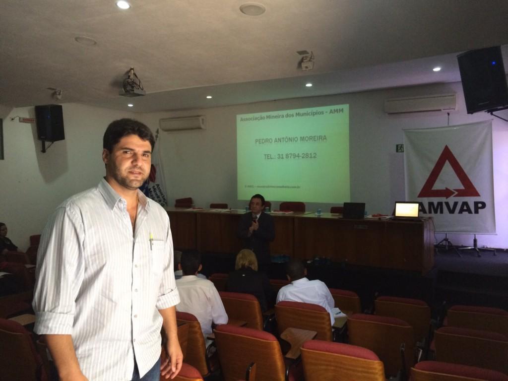 João Makhoul durante palestra realizada na última quinta-feira (26)