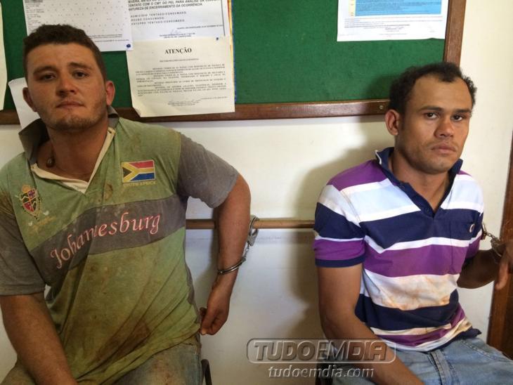 Esquerda: RENATO FERREIRA MENEZES / Direita: JHONNY DA SILVA FERREIRA