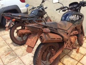 motocicletas apreendidas