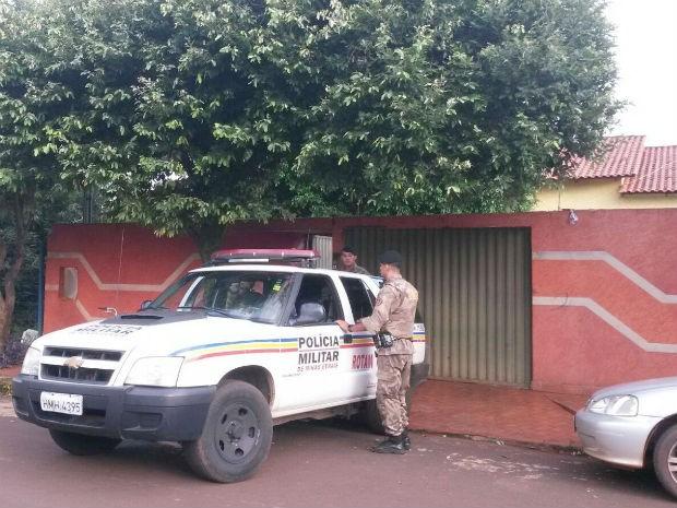 Operação é realizada nesta terça-feira (19), em Centralina (Foto: Leandro Moreira/G1)