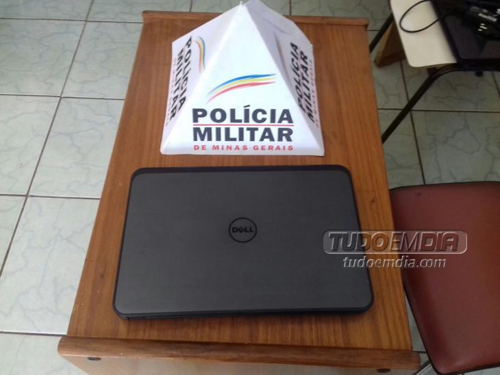 Notebook Dell foi recuperado pela PM