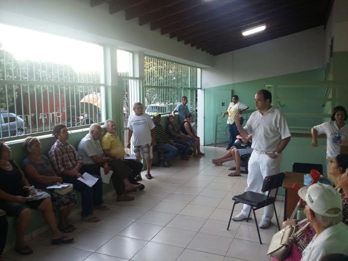 Saúde bucal e combate ao Aedes são temas de palestra no PSF Camargo