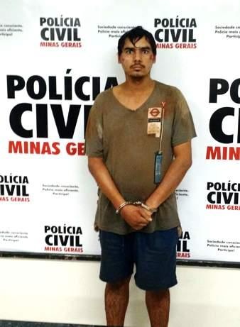 FERNANDO DIAS TEODORO é suspeito de integrar a quadilha / Foto: PCMG