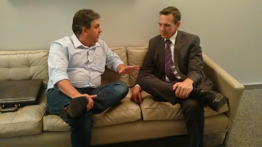 Prefeito busca apoio do Governo para reforma do Hospital em Ipiaçu