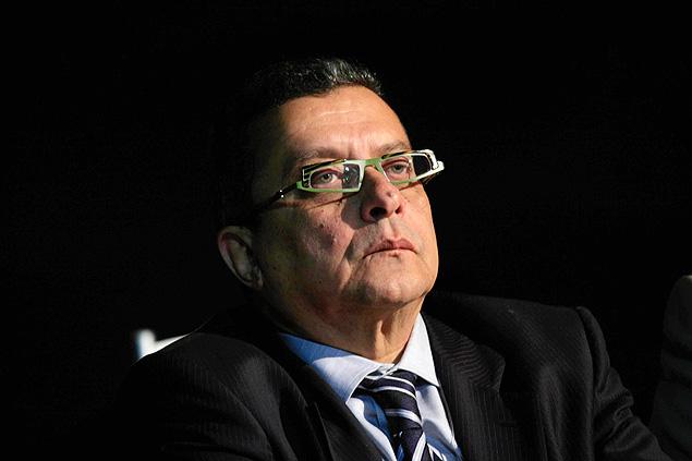 O marqueteiro João Santana durante a campanha de 2010