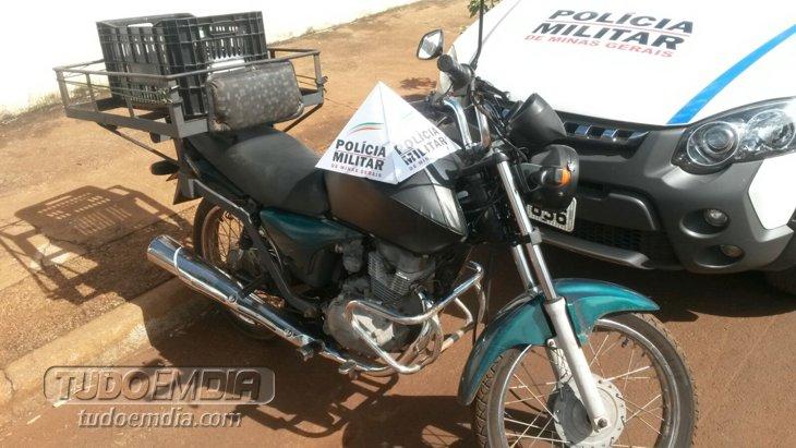 Motocicleta foi roubada na manhã desta quinta-feira (4) de Fevereiro