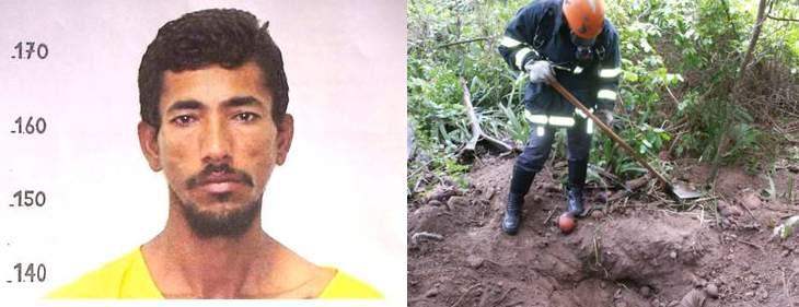 Edmilson de Jesus Alves, de 39 anos foi morto com crueldade