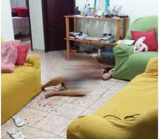 Sargento reformado é assassinado com 11 facadas e namorada confessa crime