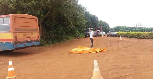 Estudantes morreu atropelada por ônibus - Foto: Patos Hoje