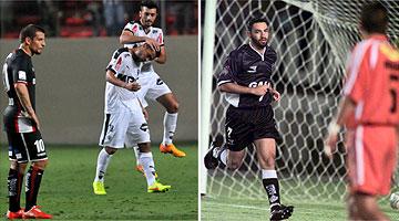Ano passado, Galo venceu o Colo Colo por 2 a 0 no Independência; em 2000, com quatro gols do atacante Guilherme, Alvinegro derrotou o Cobreloa por 6 a 0, no Mineirão