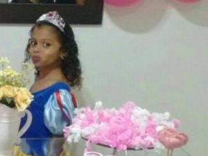 Giovana morreu após ser baleada pelo assaltante (Foto: Arquivo pessoal/Claudia Silva)