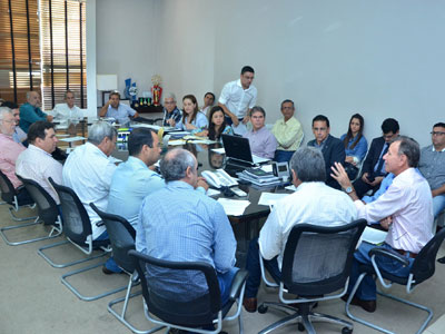 Prefeito Paulo Piau adiantou que Uberaba também deve adotar a medida de calamidade financeira / Foto/Sebastião Santos/PMU