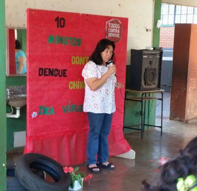 Júlia Pereira / diretora da Escola
