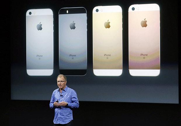 Executivo da Apple anuncia o iPhone SE, aparelho mais barato e de tela menor