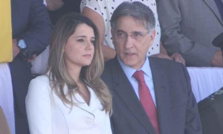 Carolina Oliveira, mulher do governador de Minas Gerais, Fernando Pimentel (PT)