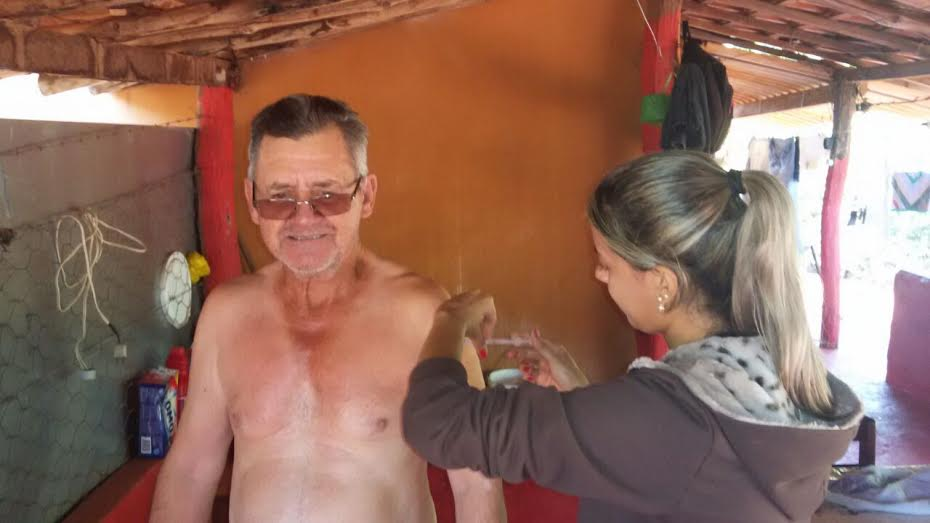 Vacinação contra a Gripe percorreu a Zona Rural