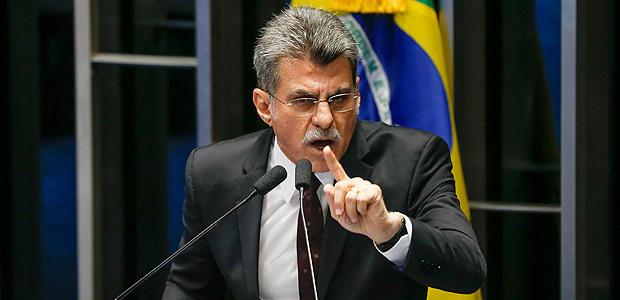 Romero Jucá (PMDB-RR), senador licenciado e ministro do Planejamento, em fala no Senado Federal