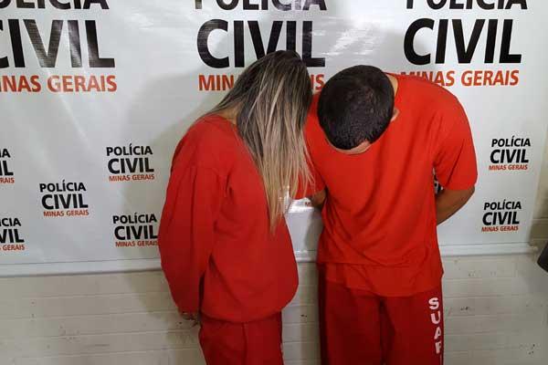 Casal é suspeito de cometer furtos em Uberlândia (Foto: Vinicius Romario)