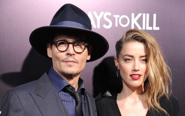 Johnny Depp e Amber Heard estão separados