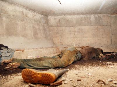Corpo já estava em avançado estado de decomposição, dentro da estrutura do viaduto, na BR-050 / Neto Talmeli