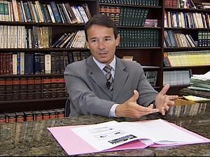Promotor Fernando Martins, responsável pela recomendação (Foto: Reprodução/TV Integração)