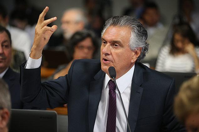 Ronaldo Caiado (GO), líder do DEM no Senado