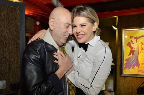 Hector Babenco e Bárbara Paz: parceria profissional e amorosa AgNews