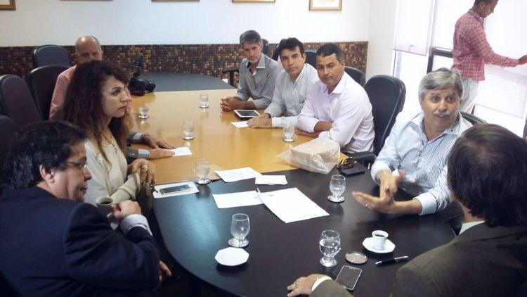 reunião com o Presidente do Tribunal de Alagoas - João Luiz Azevedo Garcia