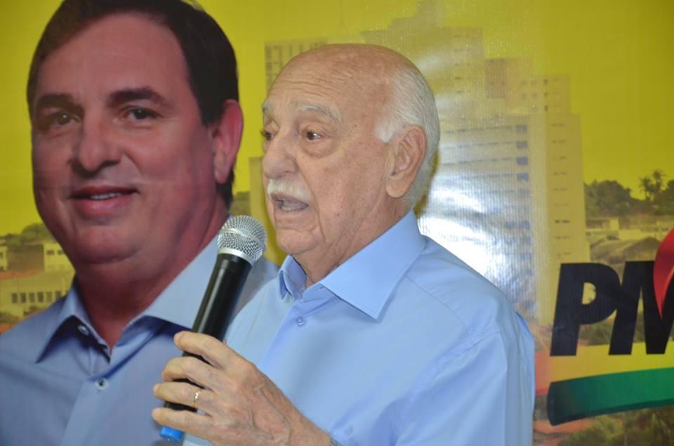 Fued Dib é oficializado como candidato à prefeito em Ituiutaba / Foto: Jornal Hoje Ituiutaba