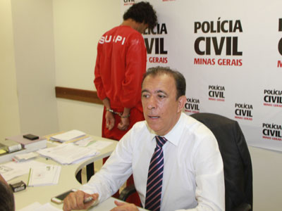 Delegado Heli Andrade confirmou ontem a confissão do principal suspeito de descartar ossada na Guilherme Ferreira