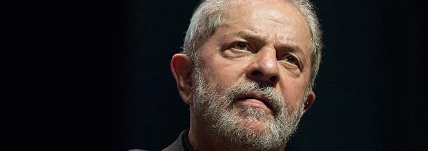 O ex-presidente Luiz Inácio Lula da Silva, que é investigado pela Operação Lava Jato