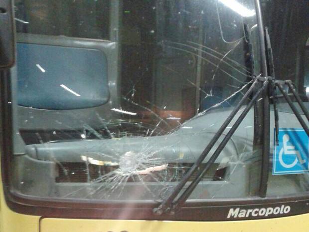 Foto de ônibus está entre imagens compartilhadas pelo WhatsApp (Foto: Reprodução Whatsapp)