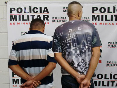 """""""Talismã"""", o mais alto, estava em companhia de Tiago Lúcio quando assaltaram cinco vítimas, sendo delas levados celulares e dinheiro"""