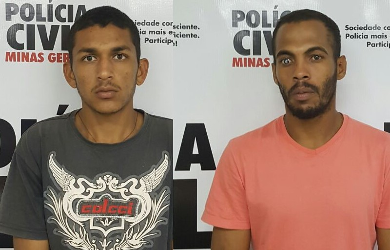 30082016-criminosos presos por matar mulher gravida e roubar bebe