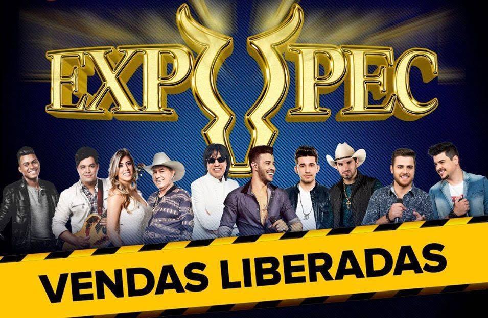 Ingressos e passaportes para a Expopec 2016 já estão à venda