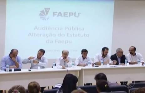 Audiência Pública para alteração do Estatuto da Faepu / Foto: Tv Integração