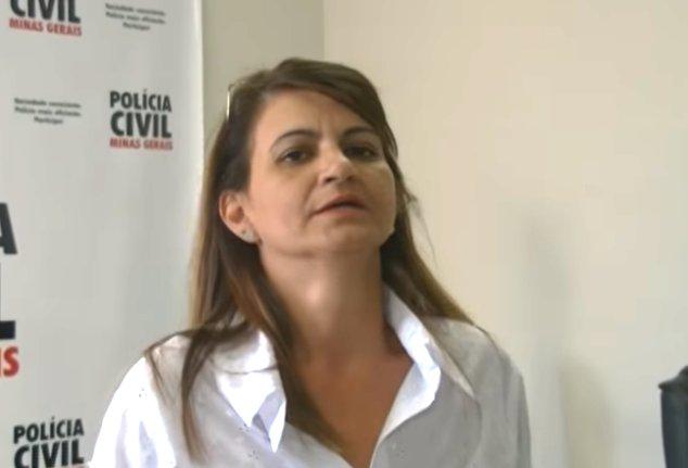 Adriana, esposa de Marcos Ferreira