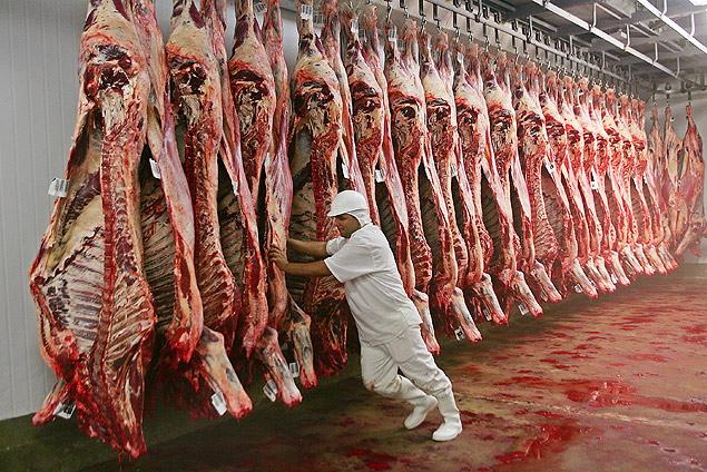 Governo tenta abrir mercado japonês para a carne bovina brasileira / Edson Silva/Folhapress