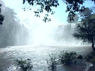 Cachoeira do Sucupira em Uberlândia  (Foto: Prefeitura de Uberlândia/Divulgação)