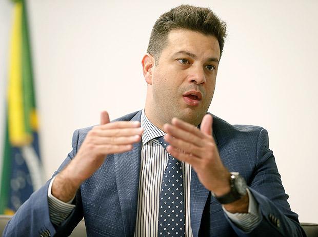 O ministro do Esporte de Michel Temer, Leonardo Picciani / Pedro Ladeira -17.mai.2016/Folhapress