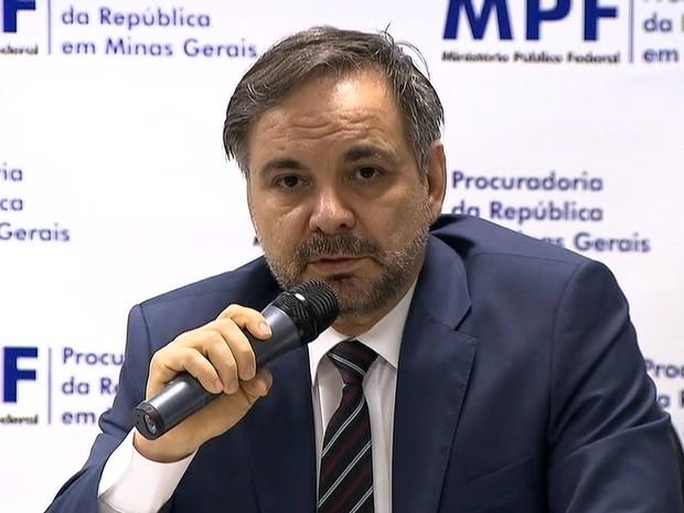 Procurador da República em Minas Gerais José Adércio Leite Sampaio (Foto: Reprodução/TV Globo)