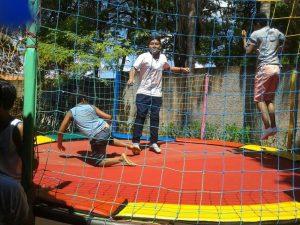 CRAS Alvorada realiza festa para as crianças